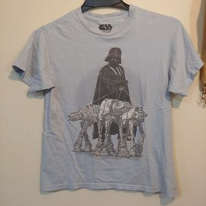 Boys Vader Walking AT-ATs Tee